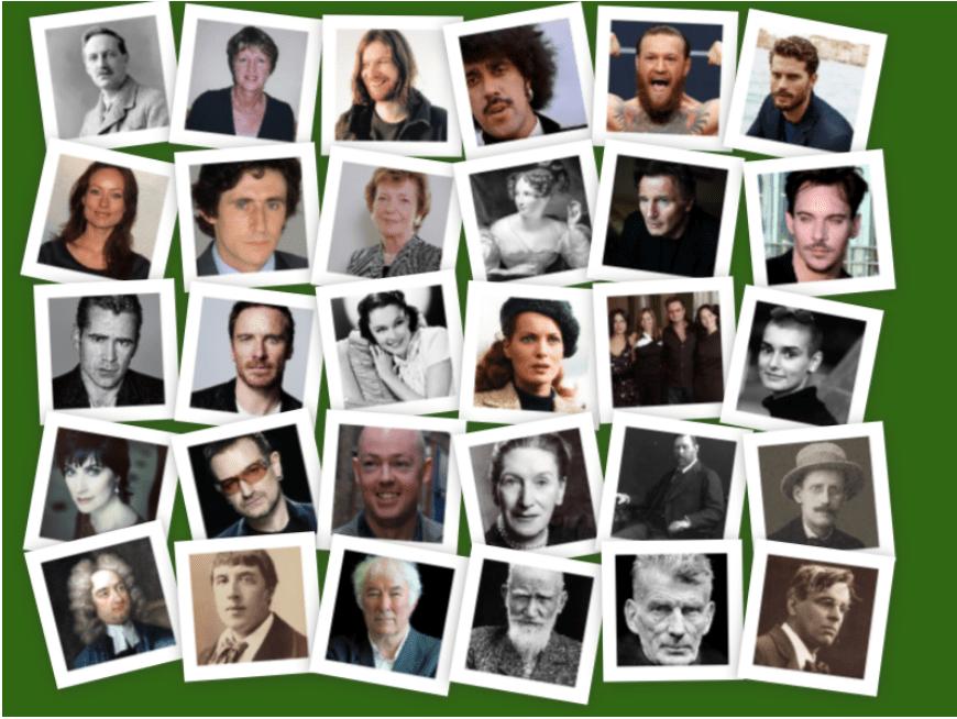 Irlandeses famosos: la lista de los personajes más célebres de la isla